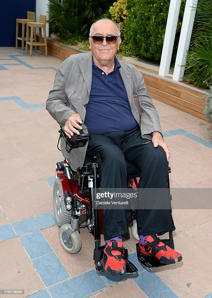 Director Bernardo Bertolucci attends the Premio Kineo Photocall during the 70th Venice International Film Festival at Terrazza Maserati on September 1, 2013 in Venice, Italy.
