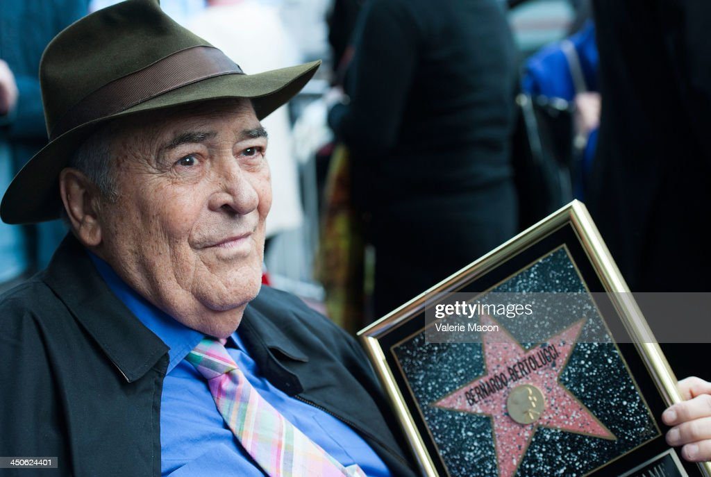 Director <a gi-track='captionPersonalityLinkClicked' href=/galleries/search?phrase=Bernardo+Bertolucci&family=editorial&specificpeople=228513 ng-click='$event.stopPropagation()'>Bernardo Bertolucci</a> celebrates his Star on the Hollywood Walk of Fame on November 19, 2013 in Hollywood, California.