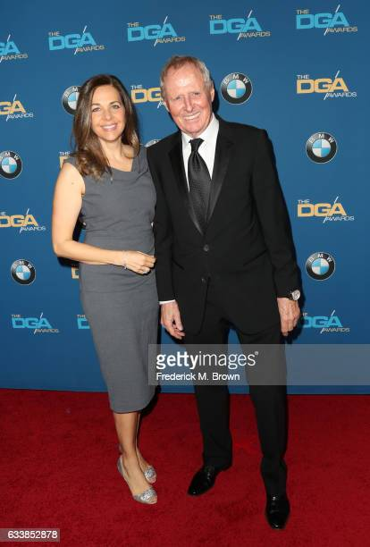 Director Bertram van Munster and producer Elise Doganieri attend the 69th Annual Directors Guild of America Awards at The Beverly Hilton Hotel on...