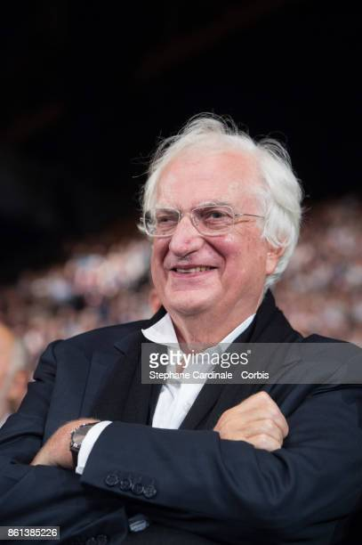 Director Bertrand Tavernier attends the Opening Ceremony of the 9th Film Festival Lumiere on October 14 2017 in Lyon France
