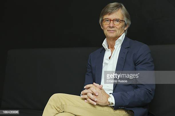 Director Bille August attends the 'Night Train To Lisbon' photocall at Anica on April 12 2013 in Rome Italy