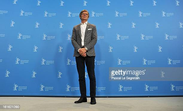 Director Bille August attends the 'Night Train to Lisbon' Photocall during the 63rd Berlinale International Film Festival at the Grand Hyatt Hotel on...