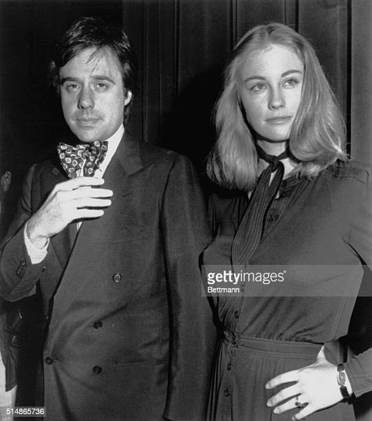 Director Bogdanovich and actress Cybill Shepherd attend a reception in New York to announce the release of Shepherd's first album Cybill Does It to...