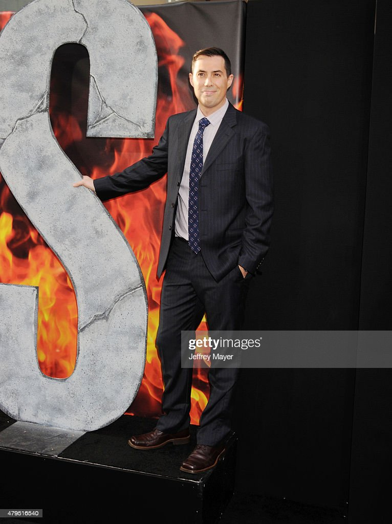 Director Brad Peyton arrives at the 'San Andreas' - Los Angeles Premiere at TCL Chinese Theatre IMAX on May 26, 2015 in Hollywood, California.