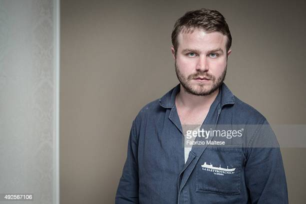 Director Brady Corbet is photographed for The Hollywood Reporter on September 5 2015 in Venice Italy