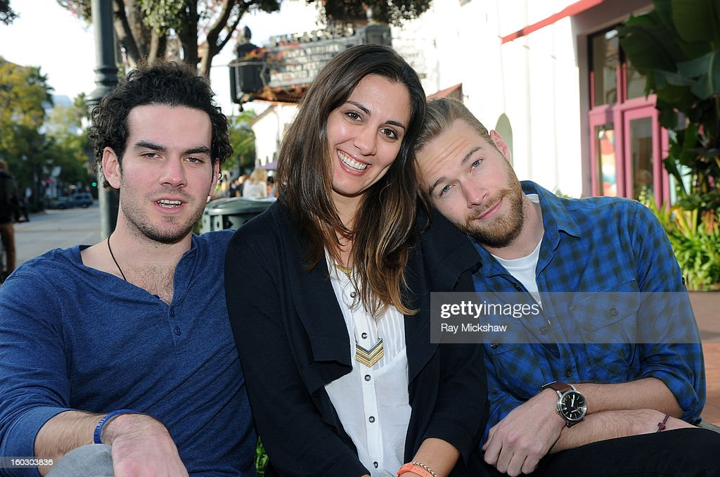 Director Brandon Willer, actress Dannikke Walkker and actor Paul Haapaniemi of the film 'The Racket Boys' attends the 28th Santa Barbara International Film Festival on January 28, 2013 in Santa Barbara, California.