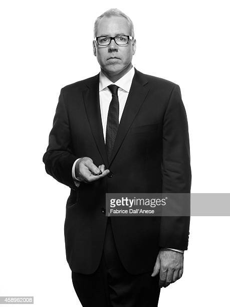Director Bret Easton Ellis is photographed for Vanity Fair Italy on September 1 2013 in Venice Italy