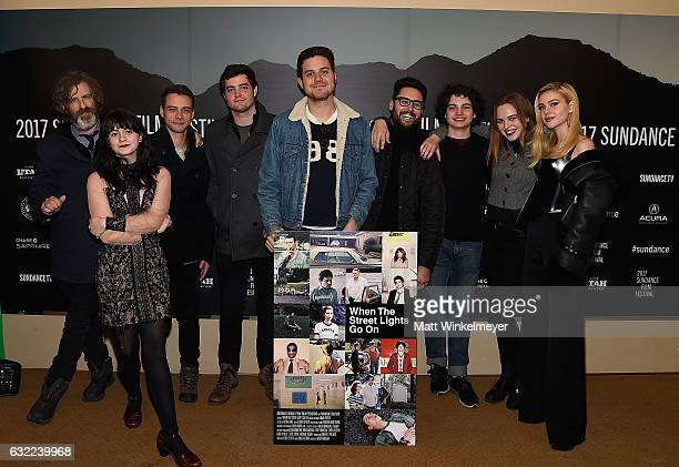 Director Brett Morgen Actors Kelli Mayo Adam Long Ben Winchell Max Burkholder Odessa Young and Nicola Peltz attend the Independent Pilot Showcase...
