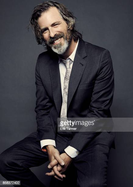 Director Brett Morgen of the film 'Jane' poses for a portrait at the 55th New York Film Festival on October 5 2017