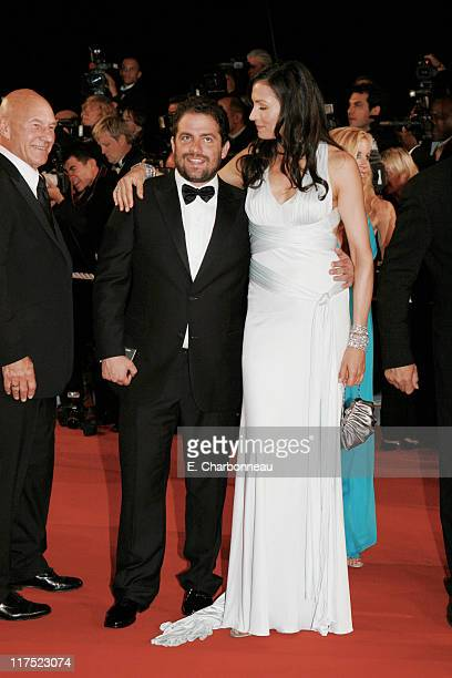 Director Brett Ratner and Famke Janssen during 20th Century Fox Premiere of 'XMen The Last Stand' at Palais des Festivals in Cannes France