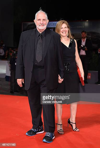 Director Brian De Palma and guest attend a premiere for 'De Palma' And 'JaegerLeCoultre Glory to the Filmmaker 2015 Award' during the 72nd Venice...