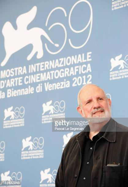 Director Brian de Palma attend the 'Passion' Photocall during the 69th Venice Film Festival at the Palazzo del Casino on September 7 2012 in Venice...
