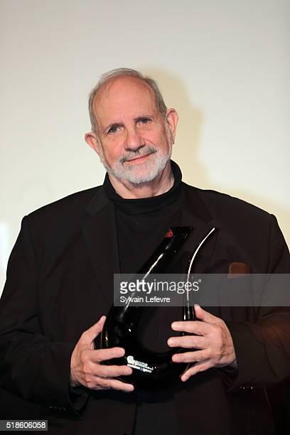Director Brian De Palma attends 8th Beaune International Thriller Film Festival on April 1 2016 in Beaune France