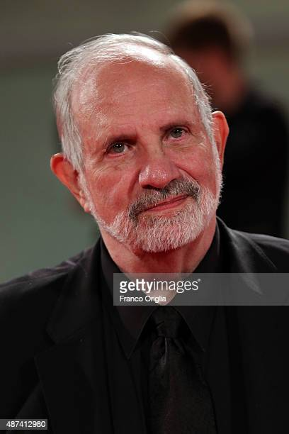 Director Brian De Palma attends a premiere for 'De Palma' And JaegerLeCoultre Glory to the Filmmaker 2015 Award during the 72nd Venice Film Festival...
