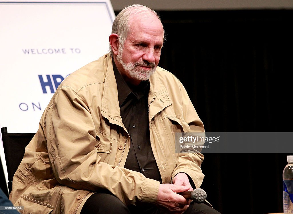 Director Brian De Palma attends On Cinema during the 50th New York Film Festival at Lincoln Center on October 7, 2012 in New York City.