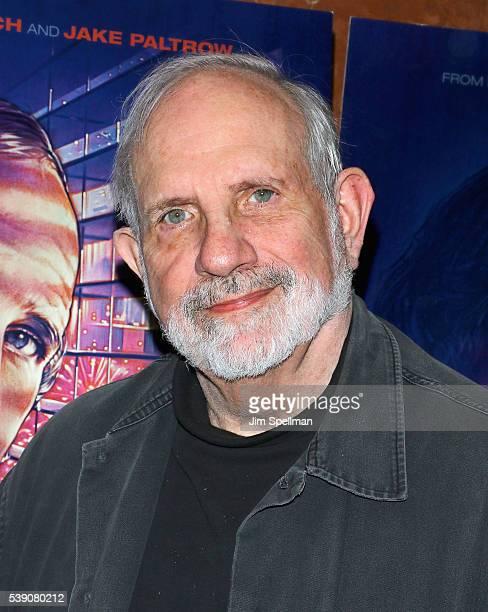 Director Brian De Palma attends the 'De Palma' New York screening at DGA Theater on June 9 2016 in New York City