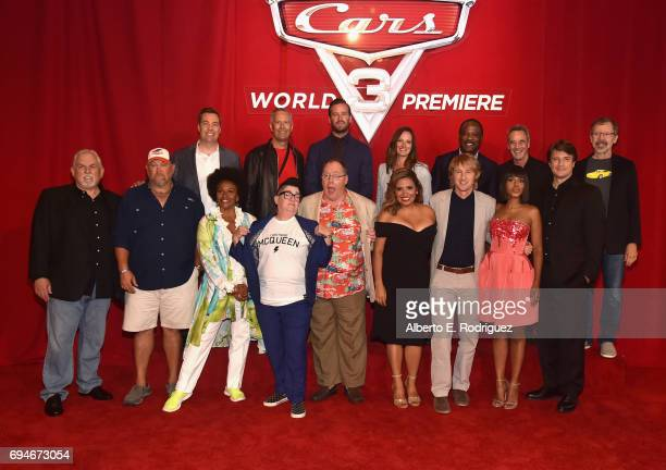 Director Brian Fee Producer Kevin Reher actor Armie Hammer CoProducer Andrea Warren actor Isiah Whitlock Jr General Manager of Pixar Jim Morris and...