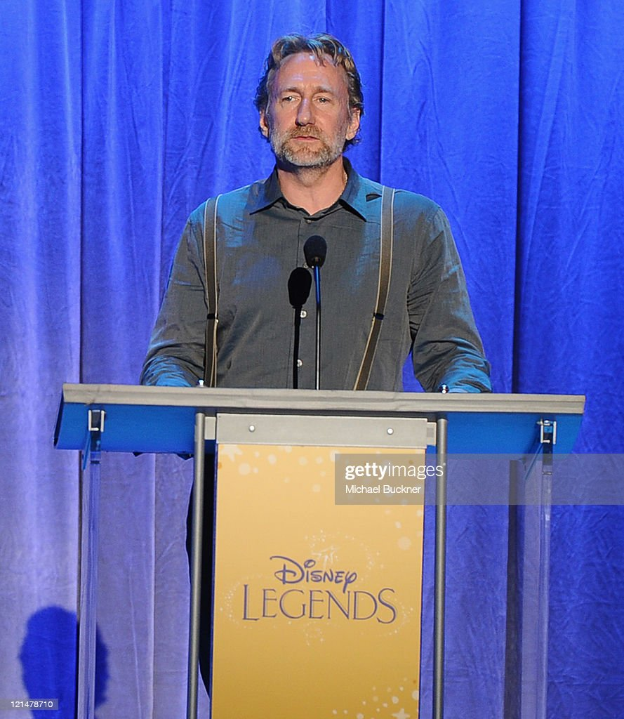 Director <a gi-track='captionPersonalityLinkClicked' href=/galleries/search?phrase=Brian+Henson&family=editorial&specificpeople=752940 ng-click='$event.stopPropagation()'>Brian Henson</a> speaks at the Disney Legends Awards Ceremony during the D23 Expo 2011 at the Anaheim Convention Center on August 19, 2011 in Anaheim, California.