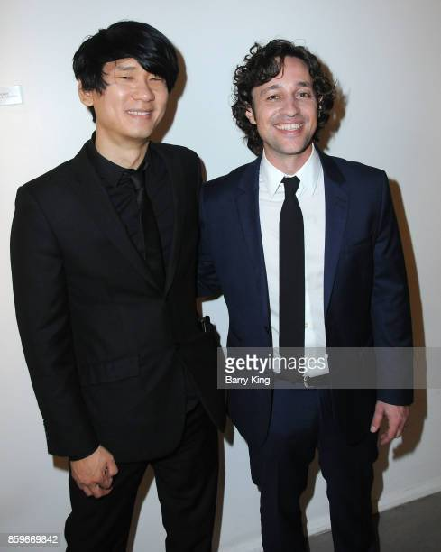 Director Brian Metcalf and actor Thomas Ian Nicholas attend 'The Lost Tree' screening at TCL Chinese 6 Theatres on October 9 2017 in Hollywood...