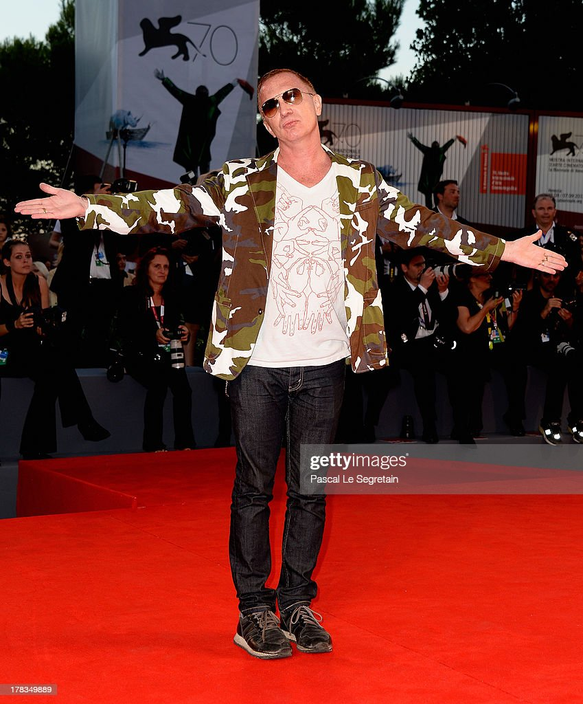Director Bruce LaBruce attends the 'Tracks' premiere during the 70th Venice International Film Festival at the Palazzo del Cinema on August 29, 2013 in Venice, Italy.