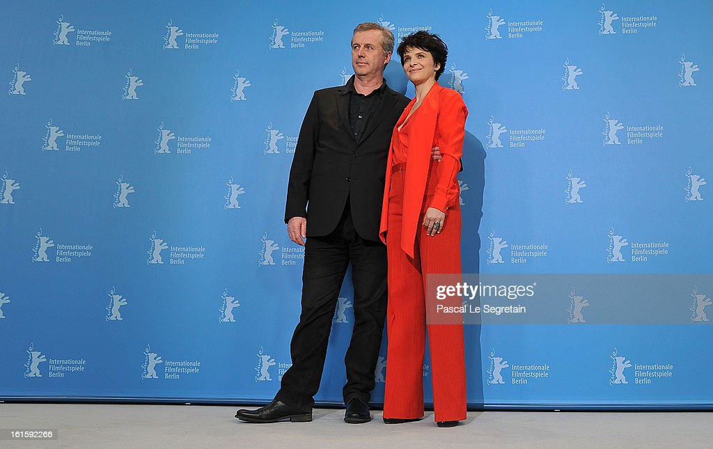 Director <a gi-track='captionPersonalityLinkClicked' href=/galleries/search?phrase=Bruno+Dumont&family=editorial&specificpeople=607004 ng-click='$event.stopPropagation()'>Bruno Dumont</a> and actress <a gi-track='captionPersonalityLinkClicked' href=/galleries/search?phrase=Juliette+Binoche&family=editorial&specificpeople=209273 ng-click='$event.stopPropagation()'>Juliette Binoche</a> attend the 'Camille Claudel 1915' Photocall during the 63rd Berlinale International Film Festival at the Grand Hyatt Hotel on February 12, 2013 in Berlin, Germany.