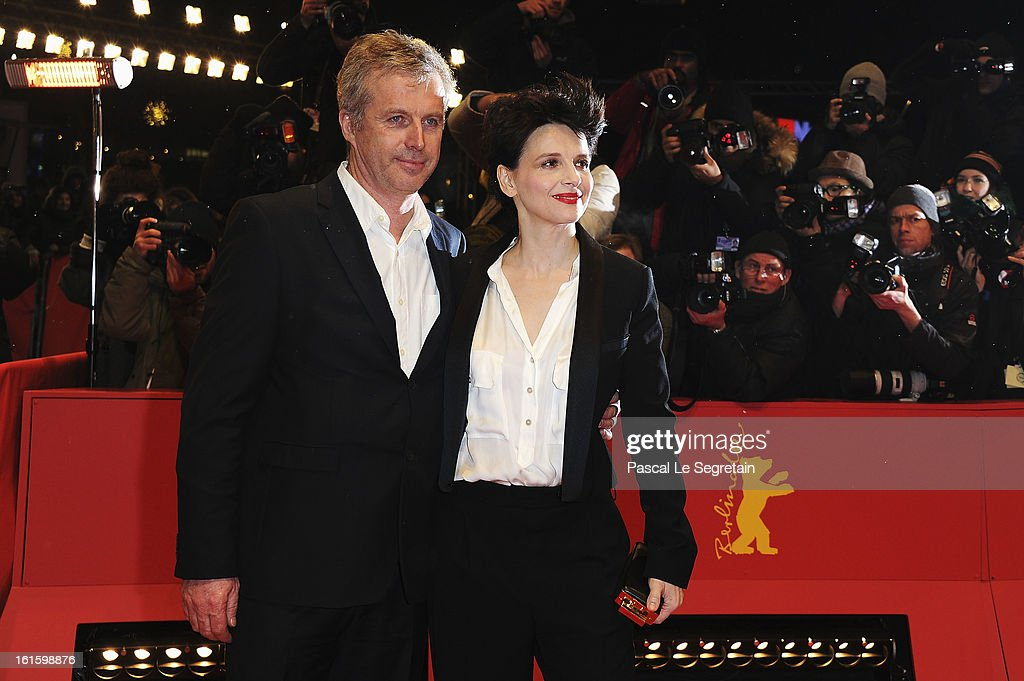 Director <a gi-track='captionPersonalityLinkClicked' href=/galleries/search?phrase=Bruno+Dumont&family=editorial&specificpeople=607004 ng-click='$event.stopPropagation()'>Bruno Dumont</a> and actress <a gi-track='captionPersonalityLinkClicked' href=/galleries/search?phrase=Juliette+Binoche&family=editorial&specificpeople=209273 ng-click='$event.stopPropagation()'>Juliette Binoche</a> attend the 'Camille Claudel 1915' Premiere during the 63rd Berlinale International Film Festival at Berlinale Palast on February 12, 2013 in Berlin, Germany.