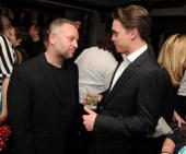 Director Bryan Goluboff and actor Jesse McCartney attend the after party for 'Beware The Gonzo' during the 2010 Tribeca Film Festival at RdV Lounge...