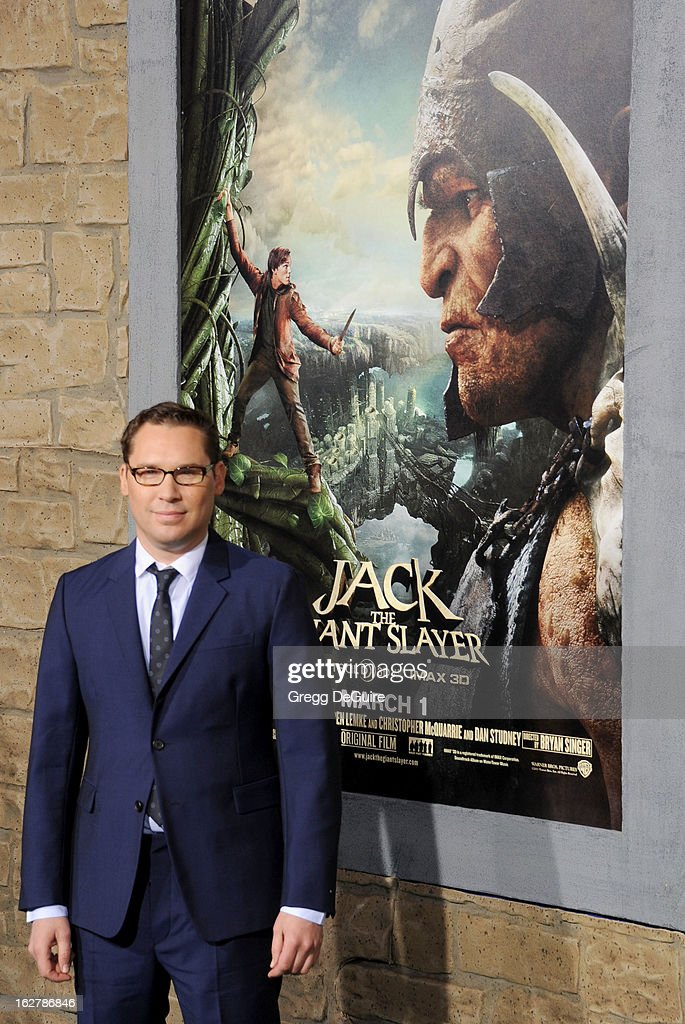 Director <a gi-track='captionPersonalityLinkClicked' href=/galleries/search?phrase=Bryan+Singer&family=editorial&specificpeople=224678 ng-click='$event.stopPropagation()'>Bryan Singer</a> arrives at the Los Angeles premiere of 'Jack The Giant Slayer' at TCL Chinese Theatre on February 26, 2013 in Hollywood, California.