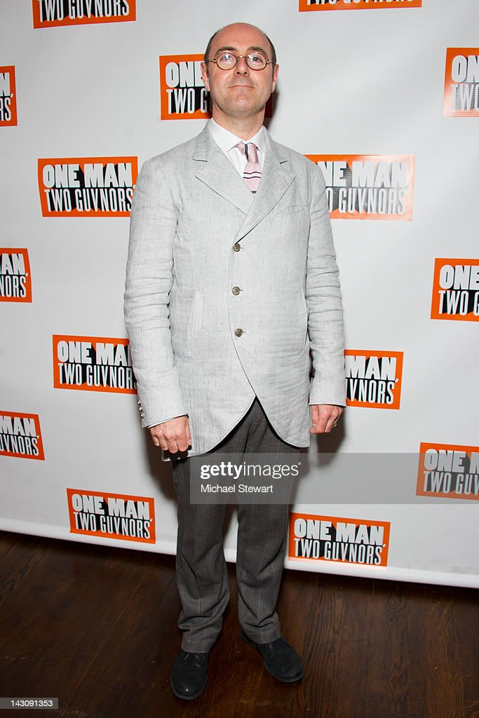 Director Cal McCrystal attends the 'One Man, Two Guvnors' opening night party at The Liberty Theatre on April 18, 2012 in New York City.