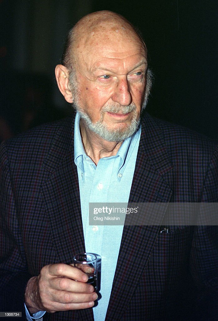 Director cameraman and scriptwriter Irvin attends the Moscow International Film festival July 23 2000 in Moscow Russia Kershner is also a member of...