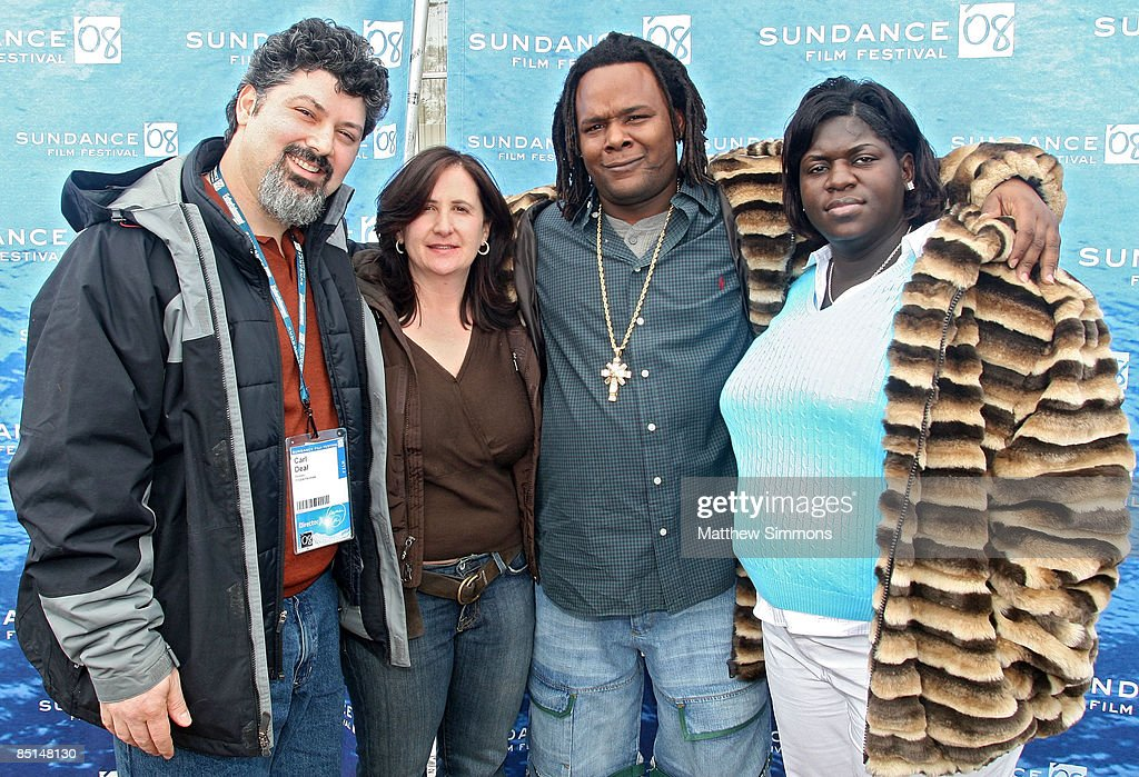 Director Carl Deal, Director Tia Lessin, Scott Roberts, and Director of Photography Kimberly Roberts attend a screening of 'Trouble The Water' at the Library Theatre during the 2008 Sundance Film Festival on January 20, 2008 in Park City, Utah.