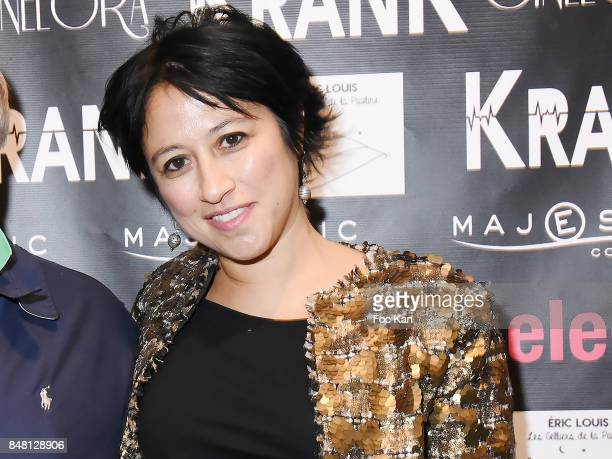 Director Caroline Chu attends 'Krank' Film Screening at Cinema La Clef on September 16 2017 in Paris France