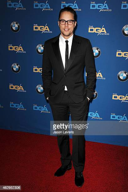 Director Cary Fukunaga attends the 67th annual Directors Guild of America Awards at the Hyatt Regency Century Plaza on February 7 2015 in Los Angeles...