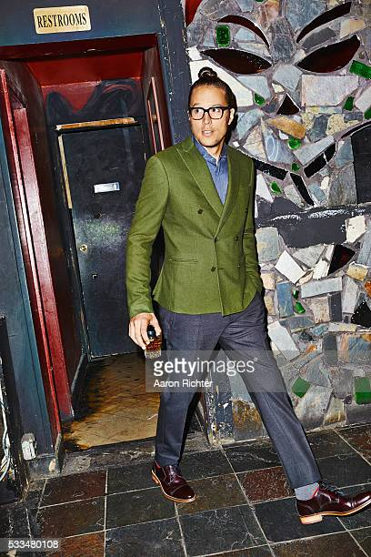 Director Cary Fukunaga is photographed for Esquire Magazine in 2014 in New York City PUBLISHED IMAGE