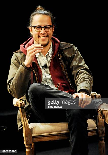 Director Cary Fukunaga speaks onstage at Tribeca Talks Director Series Cary Fukunaga With James Schamus during the 2015 Tribeca Film Festival at the...