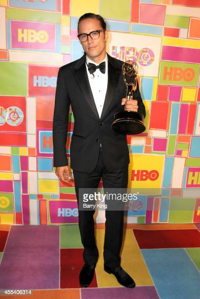 Director Cary Joji Fukunaga attends HBO's 2014 Emmy after party at The Plaza at the Pacific Design Center on August 25 2014 in Los Angeles California