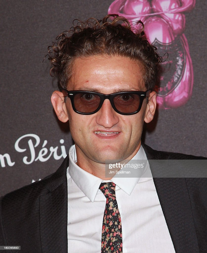 Director Casey Neistat attends the Dom Perignon Limited Edition Jeff Koons Bottle Launch at 711 Greenwich Street on September 10, 2013 in New York City.