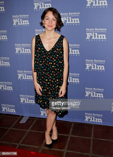 Director Catalina Mesa attends the 32nd Santa Barbara International Film Festival Montecito Tribute at Arlington Theater on February 8 2017 in Santa...