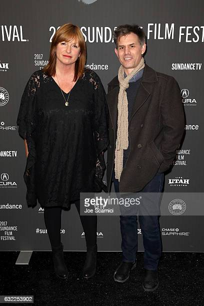 Director Cate Shortland and Sundance Film Festival Senior Programmer John Nein attend the 'Berlin Syndrome' premiere during day 2 of the 2017...