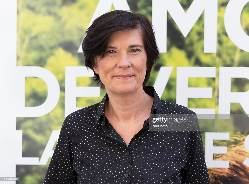 Director Catherine Corsini presents 'La Belle Saison' (Un Amor de Verano) at Golem Cinema on June 29, 2016 in Madrid, Spain.