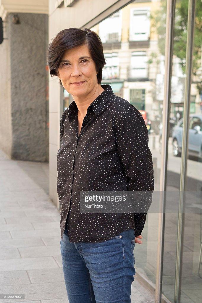 Director Catherine Corsini presents 'La Belle Saison' (Un Amor de Verano) at Golem Cinema on June 29, 2016 in Madrid, Spain.