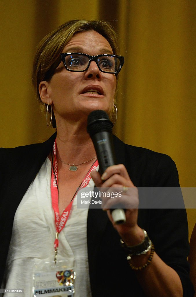 Director Catherine Dent attends the Palm Springs ShortFest 'Shooting Stars' Screening held at the Camelot theater on June 21, 2013 in Palm Springs, California.