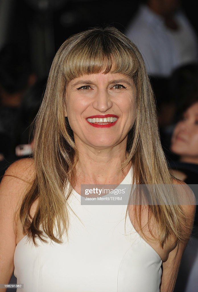 Director Catherine Hardwicke arrives at the premiere of Summit Entertainment's 'The Twilight Saga: Breaking Dawn - Part 2' at Nokia Theatre L.A. Live on November 12, 2012 in Los Angeles, California.
