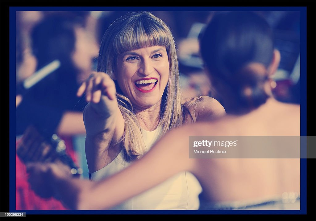 Director Catherine Hardwicke arrives at the Summit Entertainment's 'The Twilight Saga: Breaking Dawn - Part 2' at Nokia Theatre L.A. Live on November 12, 2012 in Los Angeles, California.