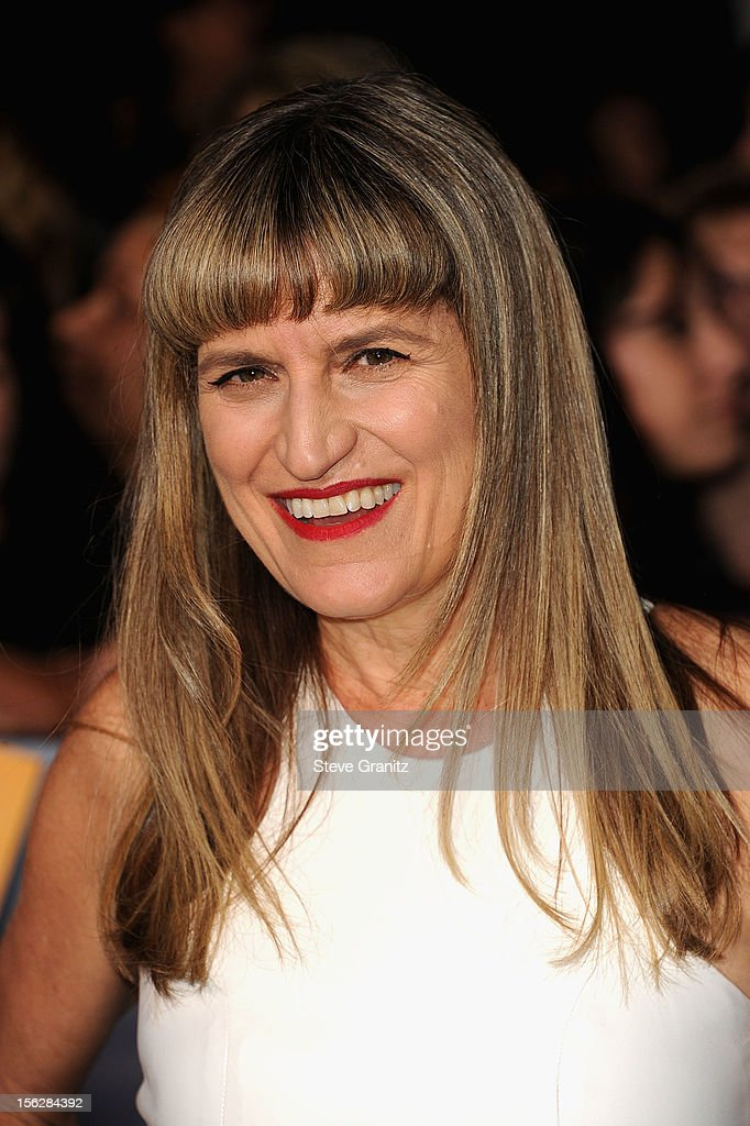 Director Catherine Hardwicke arrives at 'The Twilight Saga: Breaking Dawn - Part 2' Los Angeles premiere at Nokia Theatre L.A. Live on November 12, 2012 in Los Angeles, California.