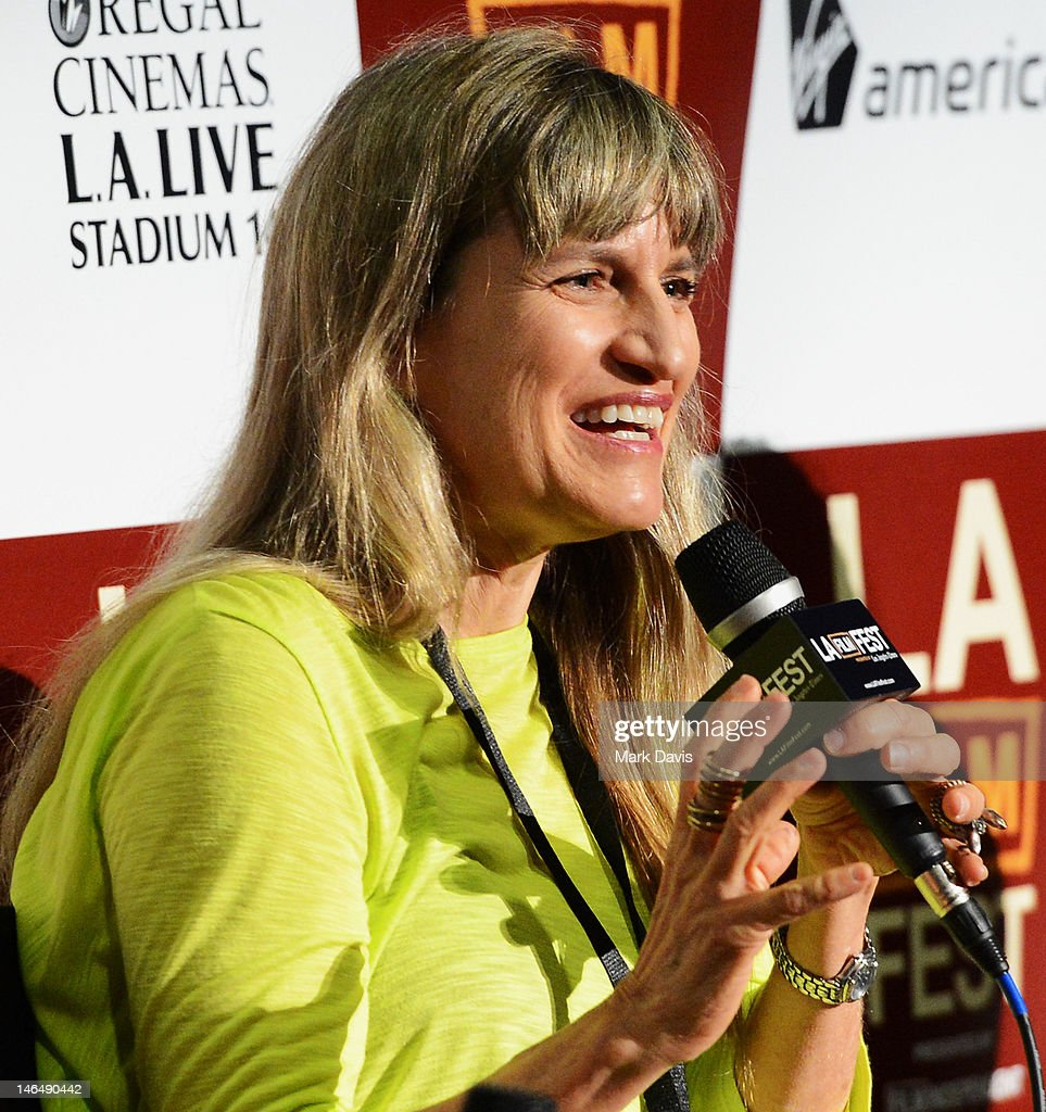Director Catherine Hardwicke speaks during the Director's coffee talks during the 2012 Los Angeles Film Festival at Regal Cinemas L.A. Live on June 17, 2012 in Los Angeles, California.