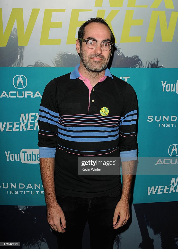 Director Chad Hartigan attends 'This Is Martin Bonner' premiere during NEXT WEEKEND, presented by Sundance Institute at Sundance Sunset Cinema on August 10, 2013 in Los Angeles, California.