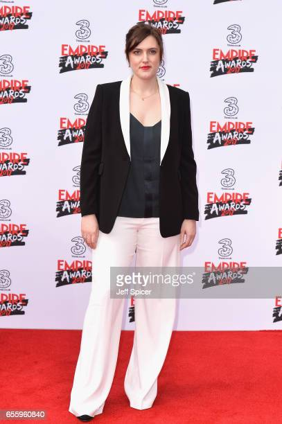 Director Chanya Button attends the THREE Empire awards at The Roundhouse on March 19 2017 in London England