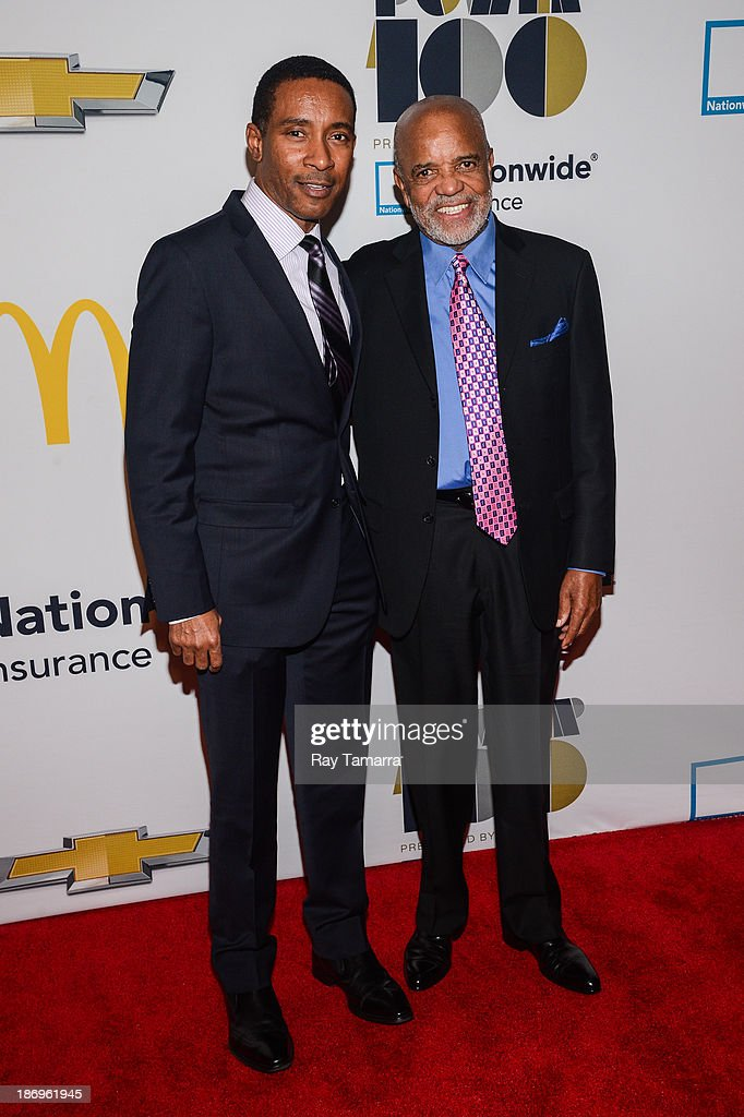 Director Charles Randolph-Wright (L) and Lifetime Achievement honoree and music industry executive Berry Gordy attend the 2013 EBONY Power 100 List Gala at Frederick P. Rose Hall, Jazz at Lincoln Center on November 4, 2013 in New York City.