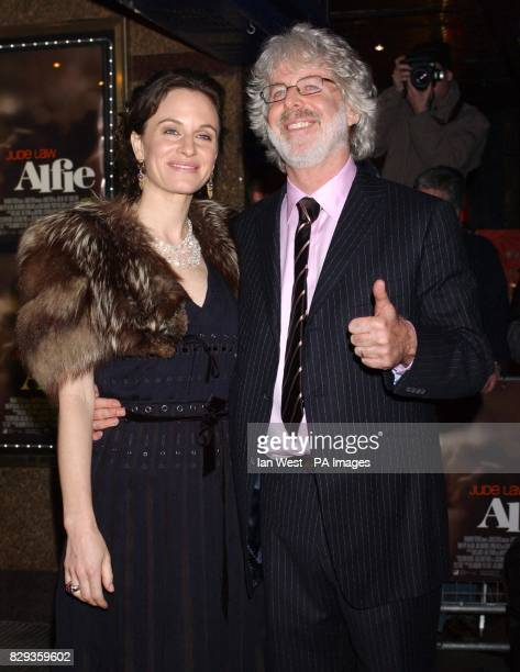 Director Charles Shayer and wife arrive for the world charity premiere of Alfie at the Empire Leicester Square in central London in aid of MakeAWish...